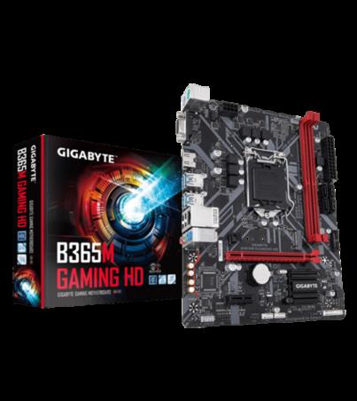 BOARD GIGABYTE B365M GAMING HD 8VA
