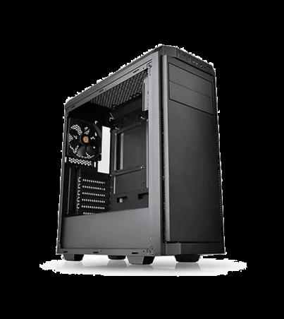 caja-thermaltake-v100-ventana-acrilico-fuente-450w